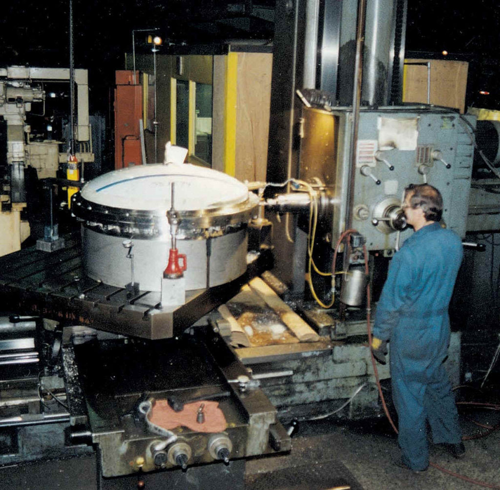 5-Axis, Horizontal Boring Mill