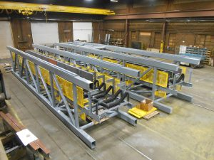 9 x 9 x 45 conveyor sections
