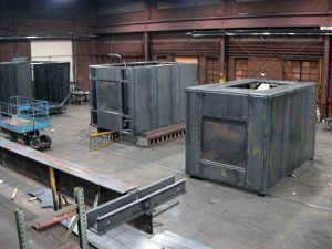 fabricated heater boxes